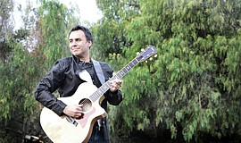 Promotional photo of singer/songwriter Steven Ybarra.