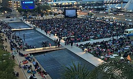Photo of Summer Movies in the Park at Waterfront Park.