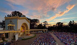 The Spreckles Organ Pavilion at Balboa Park. Courtesy of the Spreckles Organ ...