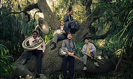 A promotional photo of the New Orleans Swamp Donkeys, courtesy of UC San Diego.