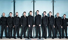 Promotional photo of the Ten Tenors.