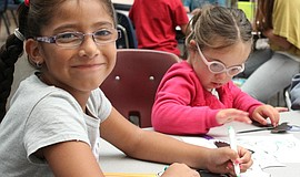 Photo of children crafting at TheNAT museum