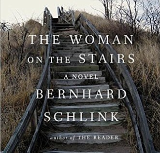 "Cropped version of ""The Woman on the Stairs"" book cover."
