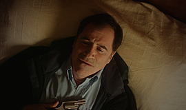 "Film still of Richard Kind as Mr. Fennimore in ""Black Swell."""