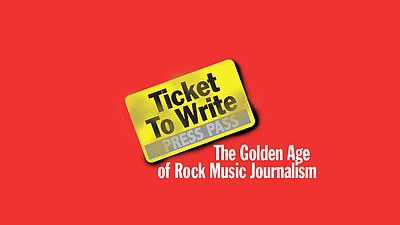 """Film poster for Raul Sandelin's """"Ticket to Write: The Gol..."""