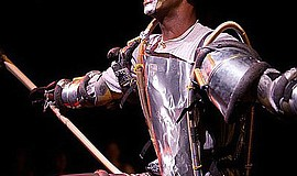 """Photo of the Tinman in The California Youth Conservatory's """"The Wiz"""" producti..."""