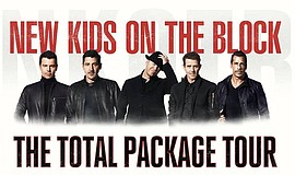 Promotional photo of New Kids on the Block.