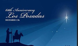 Promotional graphic of 60th Annual Las Posadas In Old Town.