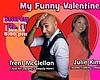 "Promotional flyer for ""My Funny Valentines"" show. Courtesy of Carlsbad Village Theatre."