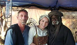 Promotional photo of participants at the annual Vista Viking Festival.