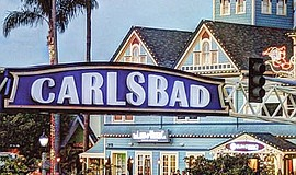 Promotional photo of the Carlsbad Village Faire.