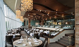 Photo of the Vintana main dining room.
