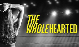 "Promotional graphic for La Jolla Playhouse's ""The Wholehearted."""