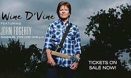 Promotional photo featuring John Fogerty courtesy of Walden Family Services