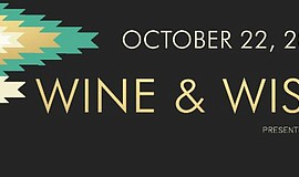 Promotional flier for Spinal Element's Wine and Wishes charity event on Oct. ...