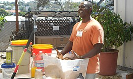 Promotional photo of a Bokashi Composting Workshop instructor.