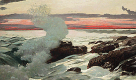 Winslow Homer - West Point, Prout's Neck 1905. Promotional artwork for the Si...