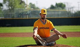 "Josh Duhamel as Bill ""Spaceman"" Lee in ""Spaceman."""