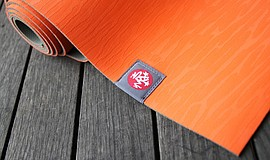 Promotional photo of a yoga mat.