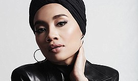 A photo of musician Yuna.