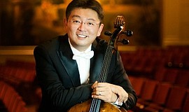 A photo of cellist Yao Zhao, courtesy of San Diego Symphony.