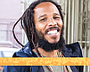 Promotional photo of Ziggy Marley for the Del Mar Reggae Fest.