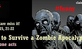 """Promotional photo for """"10 Ways to Survive a Zombie Apocalypse."""""""