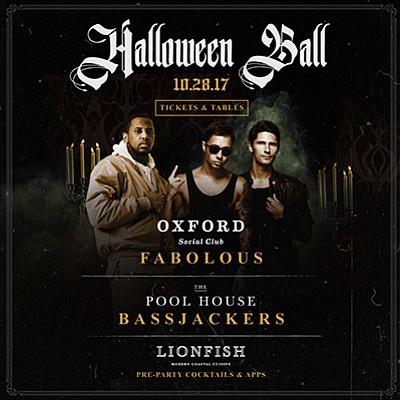 Promotional graphic for The Halloween Ball. Courtesy of O...