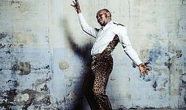 Promotional photo of Seun Kuti.
