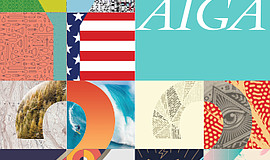 Promotional graphic for the 22nd Annual AIGA San Diego Y Design Conference.