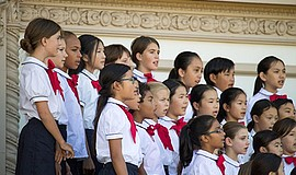 Intermediate and Concert Choirs - Spreckles Organ Pavilion, November 2016. Co...