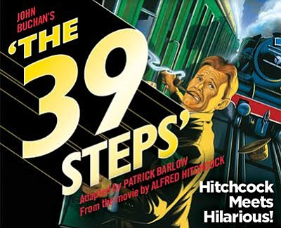 "A promotional poster for ""The 39 Steps"" at Coronado Playh..."