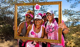 Photo of 3-day walkers courtesy of Komen San Diego.
