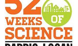 Promotional graphic for the Fleet's 52 Weeks of Science.