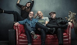 Promotional photo of the Pixies.