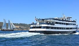 Promotional photo courtesy of Hornblower Cruises & Events.