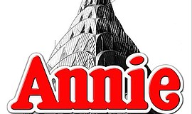 "A promotional graphic for ""Annie,"" courtesy of Star Theatre Co."