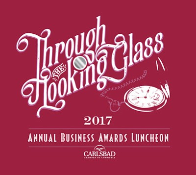 Promotional graphic for the Carlsbad Chamber Of Commerce Annual Business Awards Luncheon.