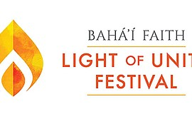Promotional graphic for Light Of Unity Festival. Courtesy of San Diego Bahá'ís