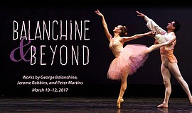 Promotional photo for Balanchine and Beyond. Courtesy of City Ballet of San D...