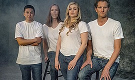 "A photo of the cast of ""Ballast,"" by Daren Scott."