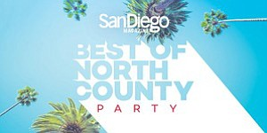 Promotional graphic for The Best Of North County Party