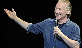 A promotional photo of comedian Bill Maher, courtesy of Humphreys.