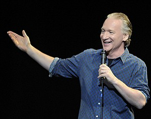 A promotional photo of comedian Bill Maher, courtesy of H...