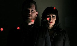 A promotional photo of the band Blood Ponies.
