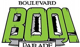 Graphic logo for the 2017 Boulevard BOO! Parade