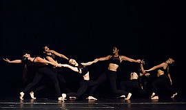 A photo of dancers from Canyon Crest Academy, courtesy of Mojalet Dance Colle...