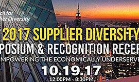 Promotional graphic for the symposium and recognition reception. Courtesy of ...