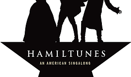 "Promotional graphic for ""Hamiltunes."" Courtesy of Moonlight Stage Productions."