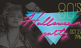 Promotional graphic for the Halloween party. Courtesy of Beach House Grill.
